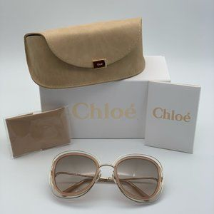 Brand NEW Chloe CE123S 724 Oversized Sunglasses